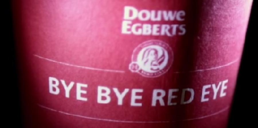 Douwe Egberts Bye Bye Red Eye Markethinkguru