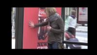 Coca-Cola Velcro Billboard