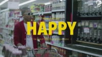 Pharrell Williams '24 hours of happy'