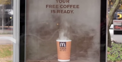 Free coffee campaign